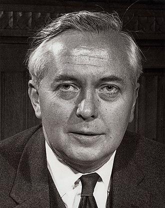 Harold Wilson in 1962