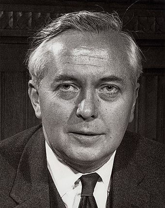 Harold Wilson replaced Douglas-Home in October 1964, and proved a formidable opponent of Smith. Harold Wilson.jpg