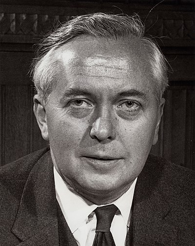 Harold Wilson, former Prime Minister of the United Kingdom