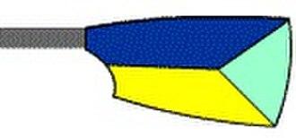 University rowing (UK) - Image: Harper rowing blade