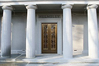 Leona Helmsley - The mausoleum of Harry Helmsley in Sleepy Hollow Cemetery