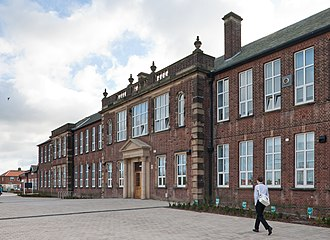 Harton Academy - Image: Harton Technology College Old Block