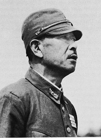 Hatazō Adachi - General Hatazō Adachi