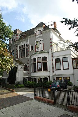 Haus Loose in Bremen, Parkstraße 116 - Slevogtstraße 60