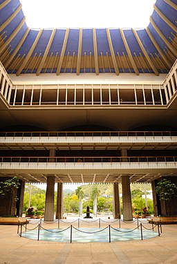 Hawaii State Capitol - Central Rotunda (5682990424)
