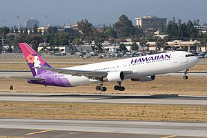 "Hawaiian Airlines Boeing 767-300 ""Akoheko..."