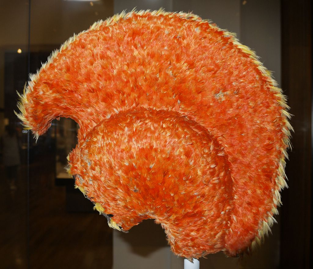 Hawaiian Feathered Helmet