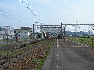 Hayato Station (Kagoshima) - The platforms