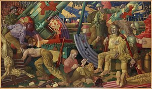 Colin Gill - Heavy Artillery (Art.IWM ART 2274)