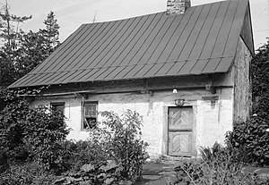 Heinrich Zeller House - HABS Photo, September 1940