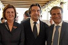 La presidentessa del Festival di Salisburgo Helga Rabl-Stadler con Riccardo Muti
