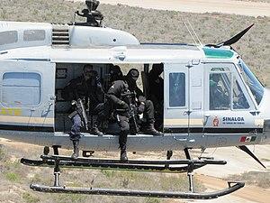 Grupo de Operaciones Especiales (Mexico) - GOPES helicopter