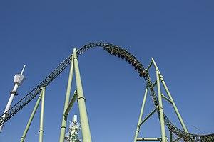 Helix (roller coaster) - Image: Helix, Liseberg 2014 04 26 07