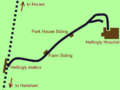 Hellingly railway route.png