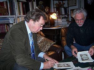 Hellmuth Karasek - Hellmuth Karasek (left) and Jens Rusch