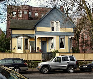 National Register of Historic Places listings in Northwest Portland, Oregon - Image: Henderson House Portland Oregon