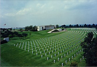 Henri-Chapelle American Cemetery and Memorial - Image: Henri Chapelle memorial