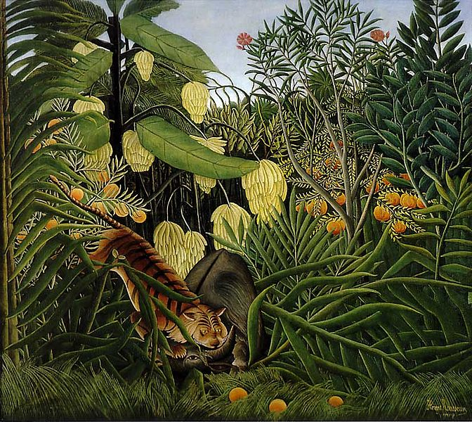 File:Henri Rousseau - Fight Between a Tiger and a Buffalo.jpg