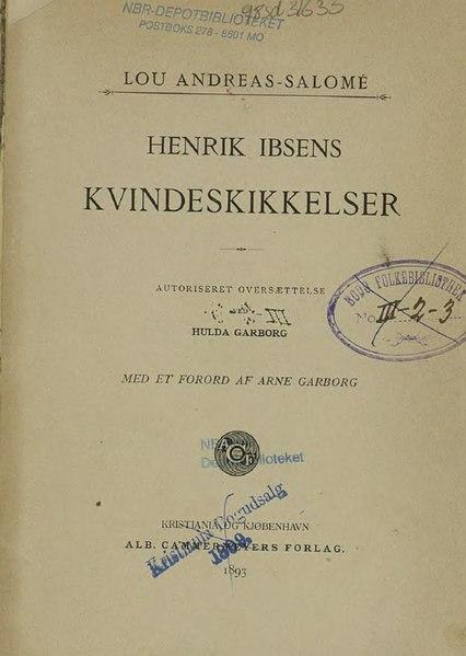 File:Henrik Ibsens Kvindeskikkelser.djvu