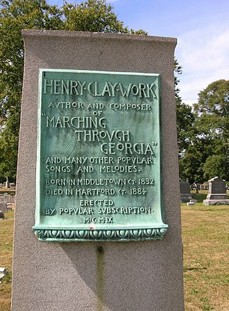 Henry Clay Work - Henry Clay Work's headstone in Spring Grove Cemetery, Hartford, CT
