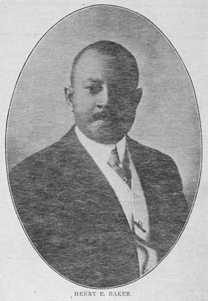 Henry E. Baker - Image: Henry Edwin Baker