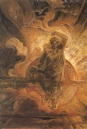 Henry John Stock - The Angel standing in the Sun.jpg