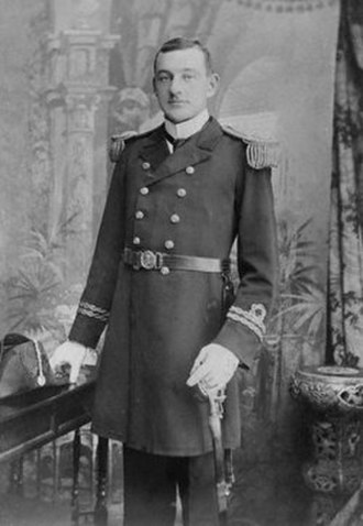Henry Tingle Wilde - Henry Tingle Wilde with his Royal Naval Reserve lieutenant uniform