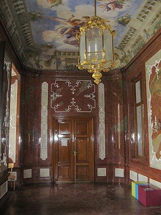 Schloss Hetzendorf - Sala terrena