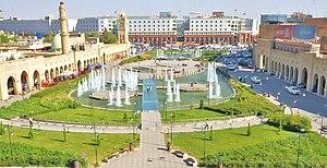 Iraqi Kurdistan - Erbil, capital of Iraqi Kurdistan