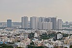 High Rise buildings in Madhapur from Golkonda hill.jpg