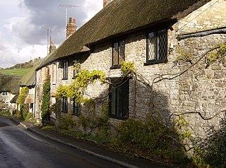 Osmington village in the United Kingdom