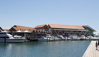 Hillarys, Western Australia - Restaurants and promenade at Hillarys