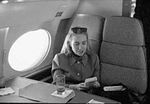 Hillary Rodham Clinton on plane using Game Boy (02).jpg