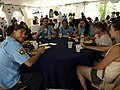 Hire LA's Youth interns enjoying some delicious tacos (14775319998).jpg