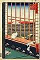 Hiroshige, Asakusa ricefields and torinomachi festival, 1857.jpg