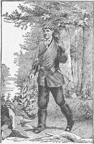 Toledo, Ohio - Peter Navarre, frontiersman, hero of the Battle of Lake Erie