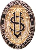 Distintivo histórico da polícia do Corpo de Inteligência da Primeira Guerra Mundial. Jpg