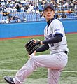 Hitoshi Fujie at Meiji Jingu Stadium 2010.jpg