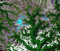 Hkakabo Razi Burma 29 Sept 2015 Landsat 8 ETM + Channels 654 panchromatic sharpened.jpg
