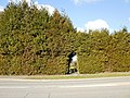 Hole in the hedge entrance to The Pastures, Llanyrafon - geograph.org.uk - 1703839.jpg