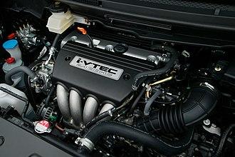Honda K engine - Image: Honda K24A engine 001