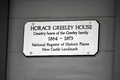 Horace Greeley House tablet.png