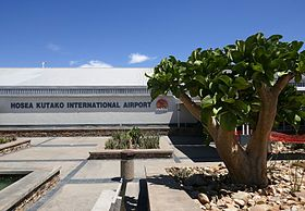 image illustrative de l'article Aéroport international Hosea Kutako de Windhoek