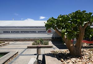 Hosea Kutako International Airport - Image: Hosea Kutako International Airport (2)