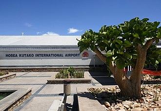 Hosea Kutako International Airport - Image: Hosea Kutako International Airport (2)