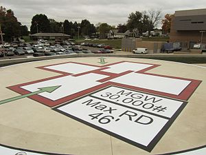 Heliport - Heliport Markings
