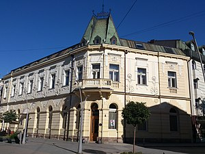 Čačak - Image: Hotel Beograd u Čačku