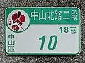 House number of Tsai Jui-yueh Dance Institute 20190706b.jpg