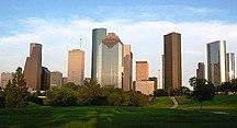 Texas-Settore terziario-Houston Skyline