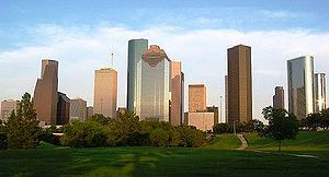 Nicknames of Houston - The skyline of the city of Houston